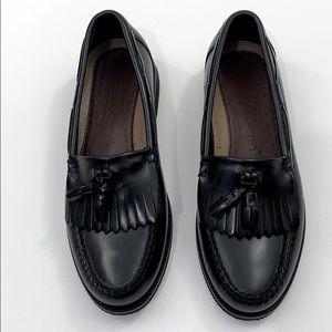 Rockport 8 M loafers tassels black comfort shoes